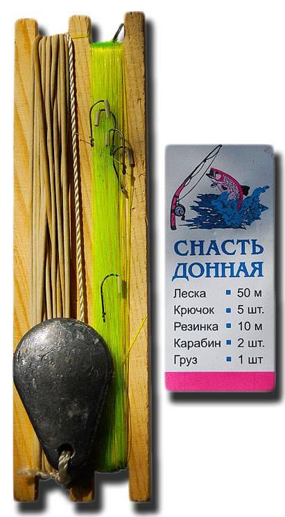 изготовить рыболовную снасть резинка